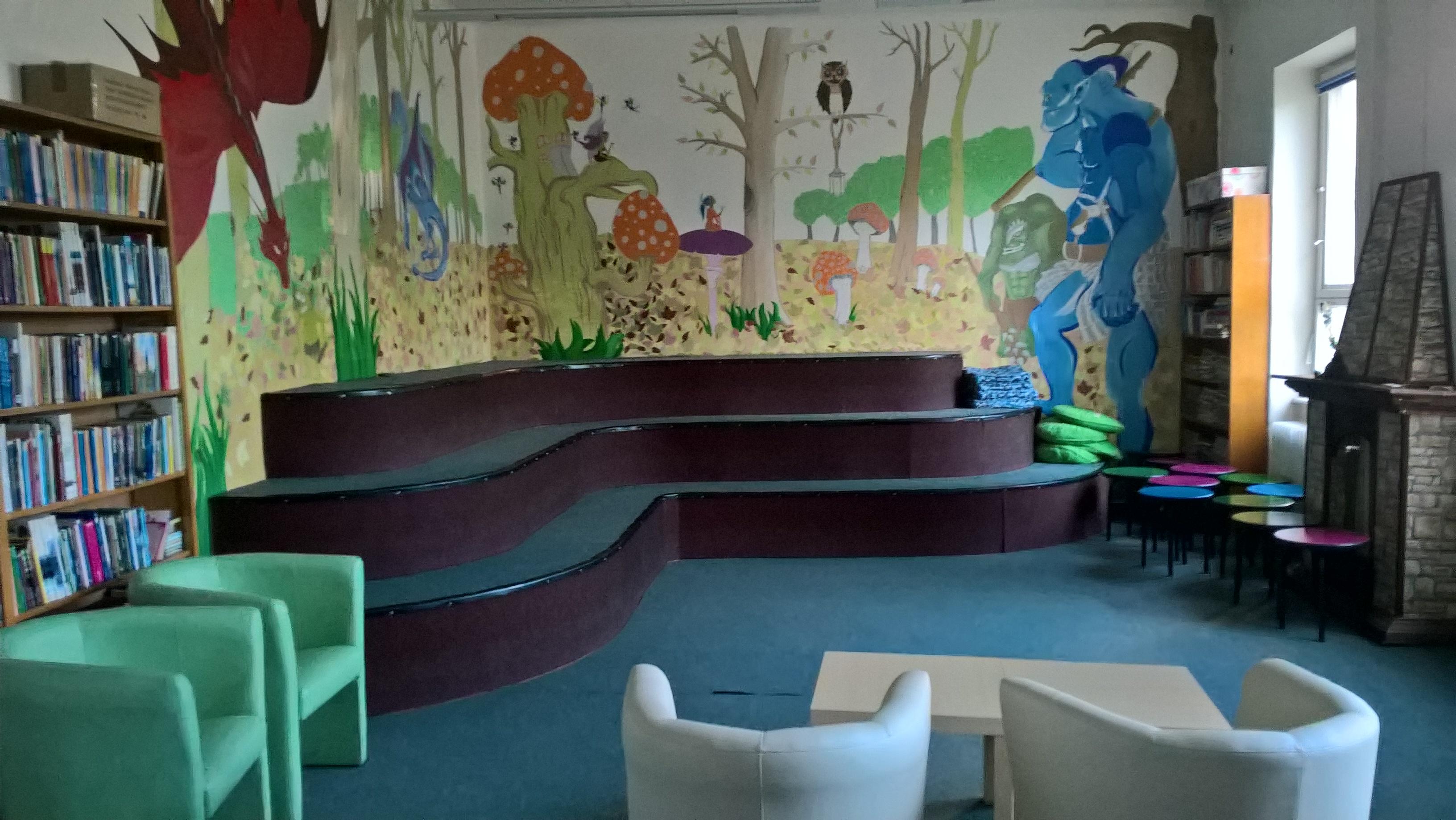 Detská spoločenská miestnosť pred inováciou