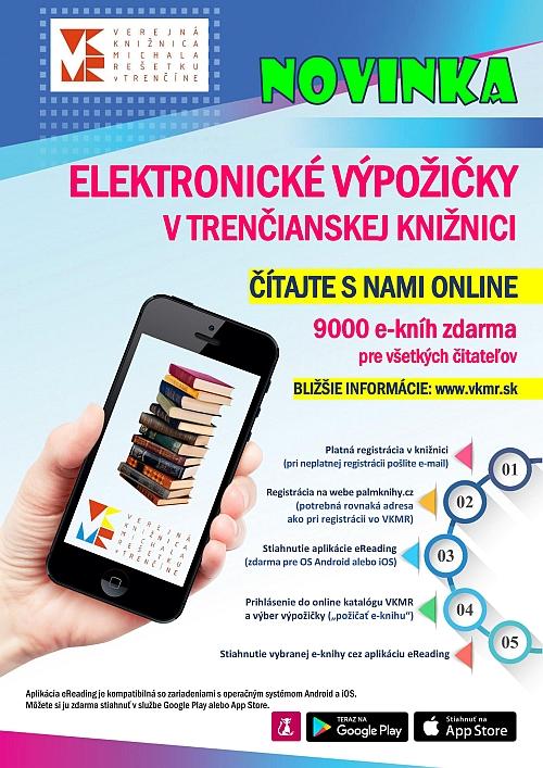 Elektronické výpožičky vo VKMR