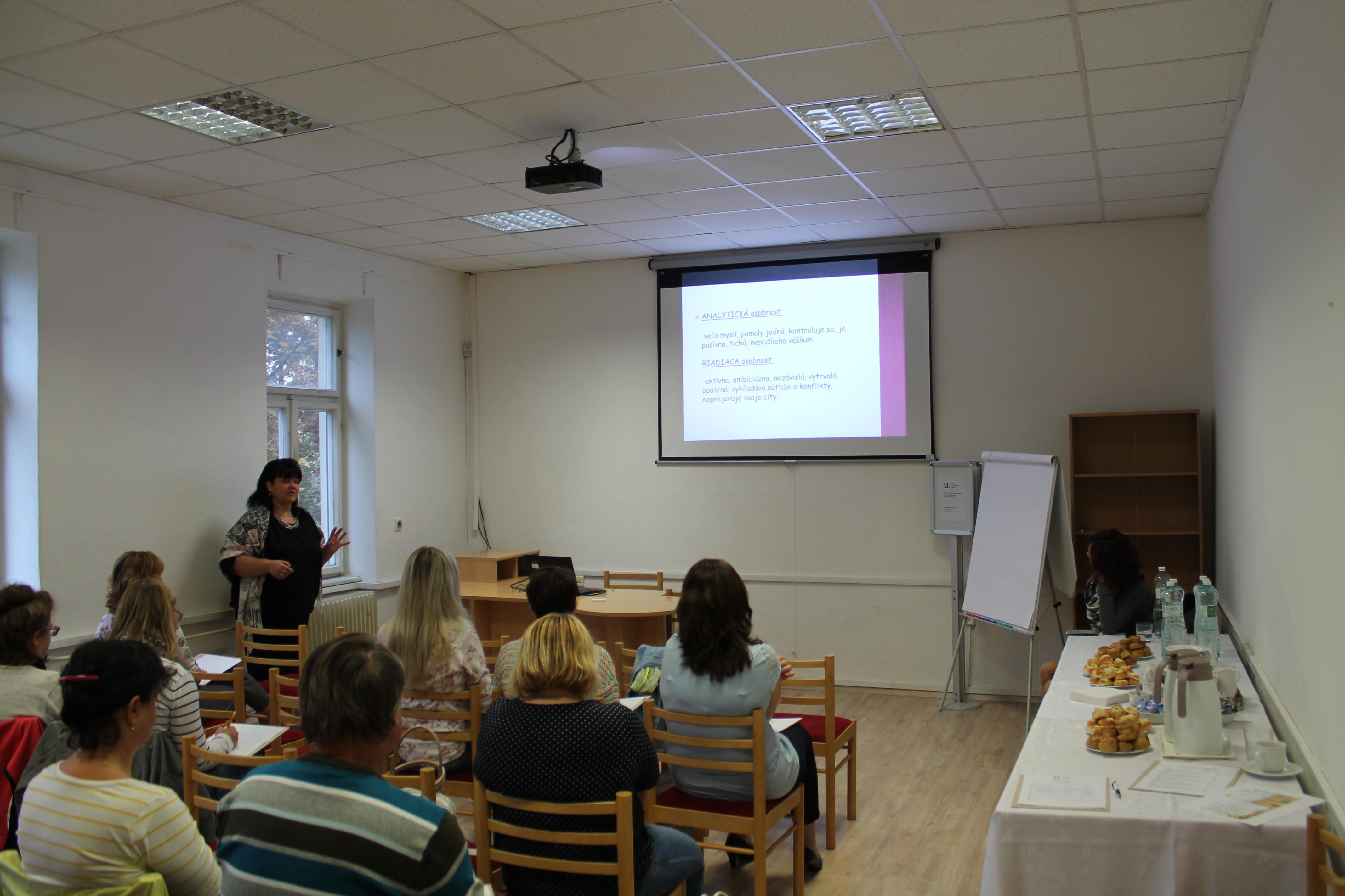 Efektívna komunikácia - celoslovenský seminár pre pracovníkov knižníc
