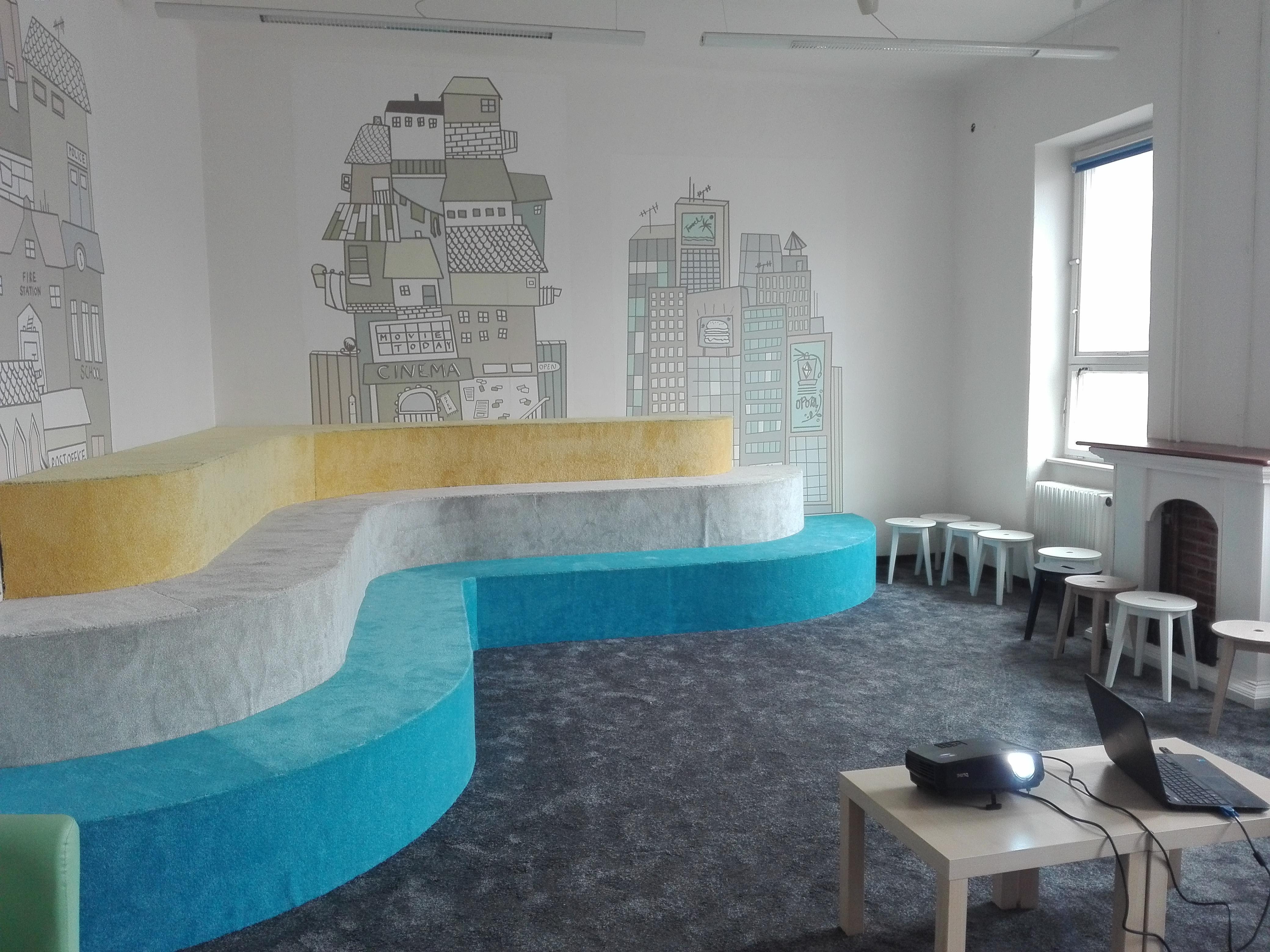 Detská spoločenská miestnosť po čiastočnej inovácii