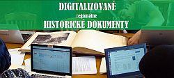 Digitalizované regionálne historické dokumenty