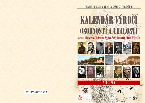 Kalendár výročí trenčianskeho regiónu v roku 2019
