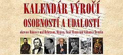 Kalendár výročí regionálnych osobností a udalostí