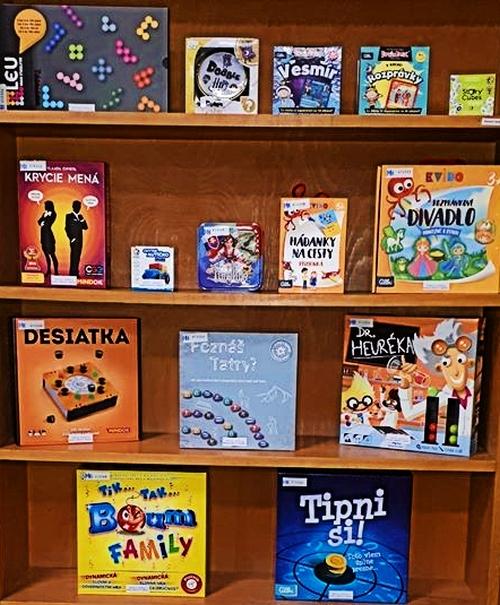 Nové spoločenské hry v trenčianskej knižnici
