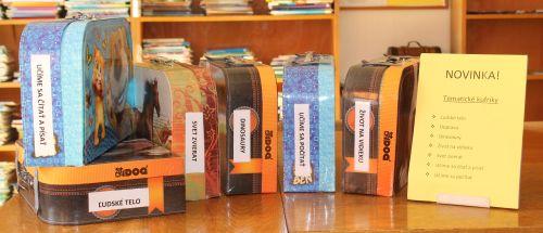 Tematické kufríky v trenčianskej knižnici