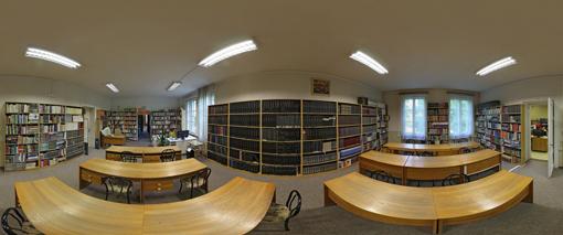 VKMR - panoramatický záber všeobecnej študovne